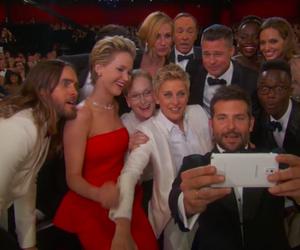 oscar, Jennifer Lawrence, and jared leto image