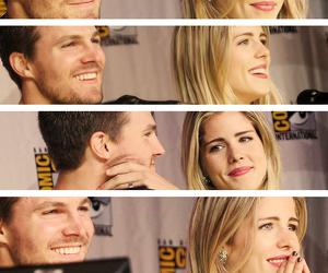 arrow, stephen amell, and love image