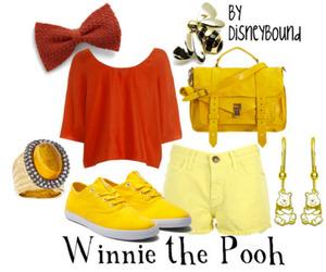 disney, fashion, and winnie the pooh image