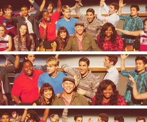 rachel berry, joe hart, and chord overstreet image