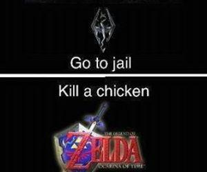 Chicken, video games, and Legend of Zelda image