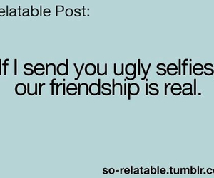 friendship, real, and selfies image