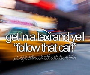 new york, taxi, and wishes image