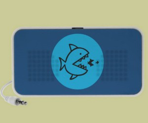 audio, shark, and speakers image