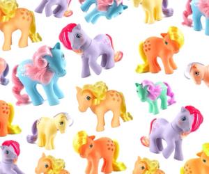 kawaii, barbie, and my little pony image