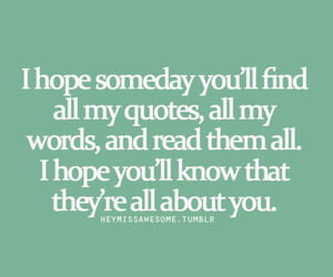 find, someday, and him image