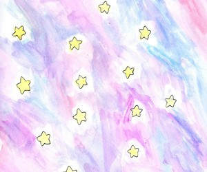 stars, background, and pastel image