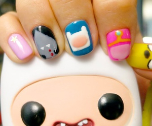nails, adventure time, and cute image