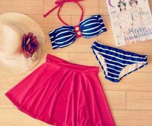 bikini, bra, and fashion image