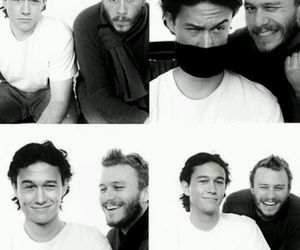 heath ledger, Joseph Gordon-Levitt, and joseph gordon levitt image