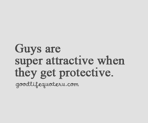 guy, protective, and attractive image