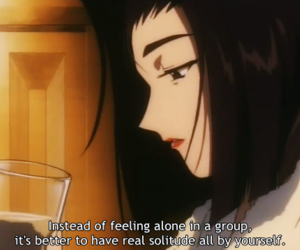 anime, alone, and life image