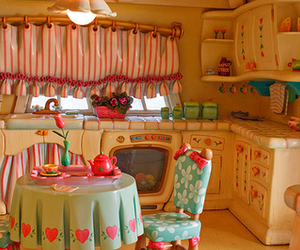 kitchen, pink, and toy image