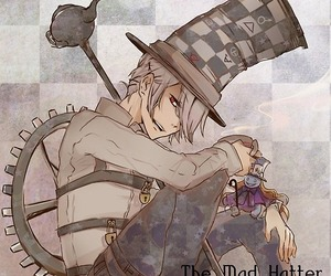 pandora hearts, mad hatter, and anime image