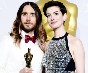 jared leto, 30 seconds to mars, and Anne Hathaway image