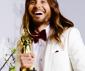 jared leto, oscar, and 30 seconds to mars image