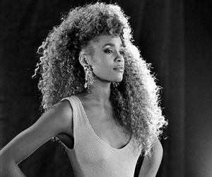 whitney houston, woman, and quotes image