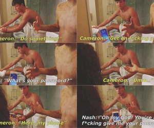 nash grier, cameron dallas, and youtuber image
