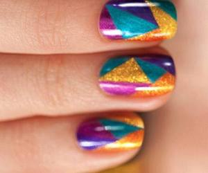 nails, cool, and nail art image