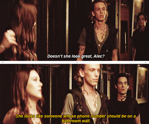 the mortal instruments, funny, and movie image