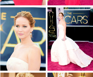 beautiful, dress, and Jennifer Lawrence image