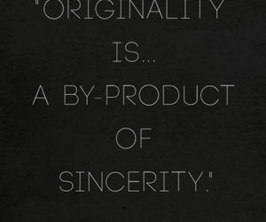 original, sincerity, and by-product image