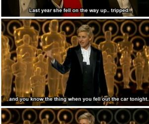 ellen, funny, and Jennifer Lawrence image