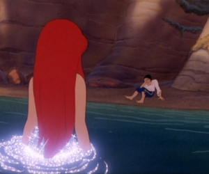 redhead and the little mermaid image