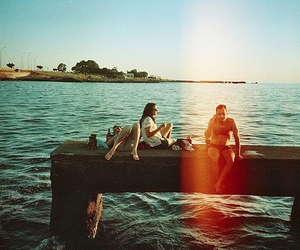 friends, sea, and summer image