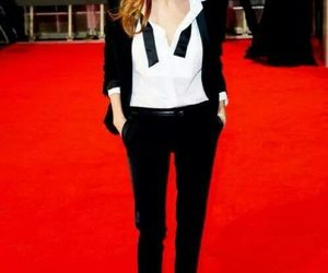Angelina Jolie, style, and suit image