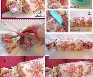 diy, pillow, and tutorial image