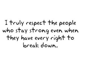 respect, quote, and strong image