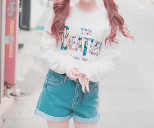 cute, fashion, and beatles image