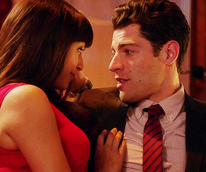 new girl, 1x13, and schmidt and cece image