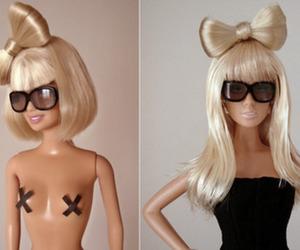 Lady gaga and doll image