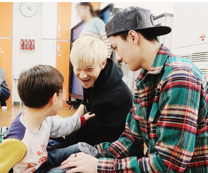 sehun, exo, and tao image