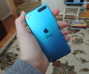 apple, blue, and quality image
