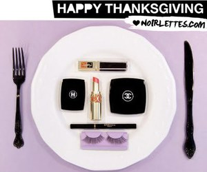 black, thanksgiving, and chanel image