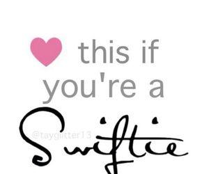 Taylor Swift, heart, and swifties image