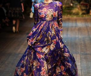 fashion, dress, and Dolce & Gabbana image