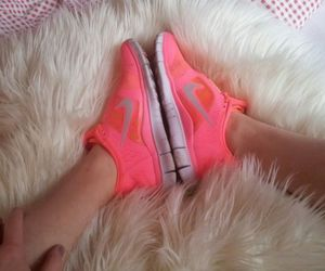 hipster, nike pink, and nike frees image