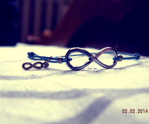 bracelet, infinity, and passion image
