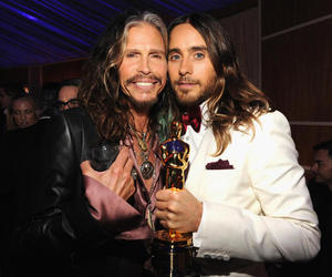 jared leto, 30 seconds to mars, and steven tyler image
