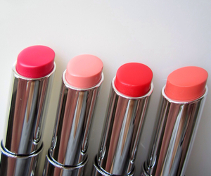 lipstick, pink, and red image