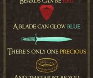 lord of the rings, precious, and LOTR image