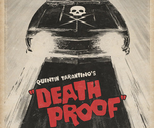 Death Proof, poster, and tarantino image