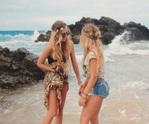 adorable, blonde, and friendship image