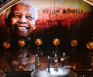 band, music, and nelson mandela image