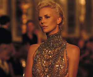 Charlize Theron, dior, and dress image