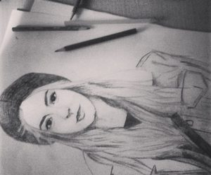 black and white, draw, and gemma styles image